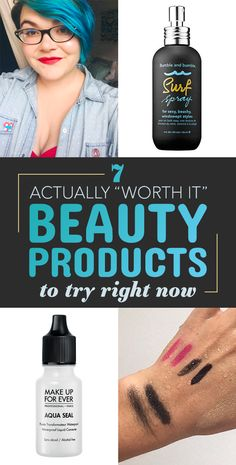 "7 Actually ""Worth It"" Beauty Products To Try Right Now"
