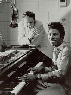 Red Robinson & Little Richard 1954