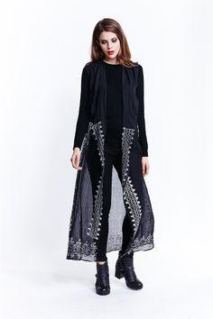 Lightweight Sheer Jacket - Fashionhub - Ladies Jackets Online. Ladies Jackets, Jackets For Women, Clothes For Women, Everyday Dresses, Jackets Online, Evening Dresses, Curvy, Kimono Top, Chic