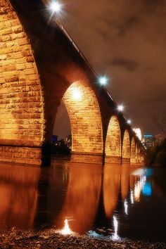 Stone Arch Bridge, Minneapolis (one of my favorite places to shoot, so lucky it's right by the house!)