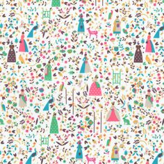 Lotta was created by Lotta Nieminen, an illustrator and graphic designer from Helsinki, Finland. After working for fashion magazine Trendi, Pentagram design and RoandCo studio, Lotta now runs her o… Liberty Of London Fabric, Liberty Fabric, Lotta Nieminen, Lawn Fabric, Thing 1, Fabric Online, Little Red, A Boutique, Fabric Patterns