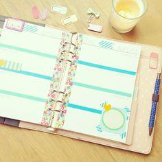 this #week35 in my #kikkik #planner :) #plannerlove #planneraddict #kikkiklove #kikkikplanner #stationery #paperclips
