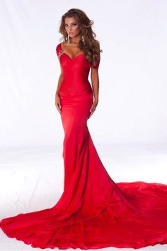 Really Really Red Long Gown