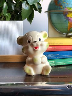 Excited to share this item from my shop: Vintage squeaky bear made in England adorable squeak toy Bear Toy, Close Up Photos, Vintage Children, Looks Great, 1950s, Great Gifts, England, Nursery, Baby Shower