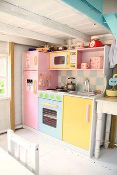 Ideas for inside playhouse