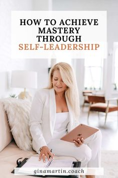 Mastery through Self-Leadership will help you gain the confidence you need in order to realize that your self-worth is not dependent on what you are capable of achieving. We will work side-by-side to discover who you truly are and what you value so you can prioritize your time and actions. You can experience a life of accomplishment without pressure, and with more time for friends, family, and fun.