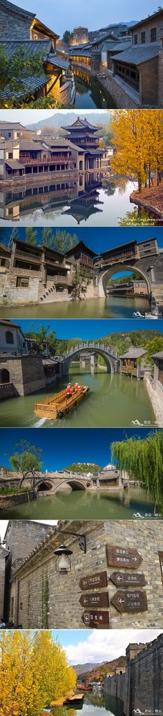 """""""The most romantic water town in Northern China - Gubei Water Town in Miyun County, Beijing. The traditional courtyard buildings along the winding river brings us a different beauty of Northern China. #Throwback to the subtle elegance in simplicity. #Beijing #China"""