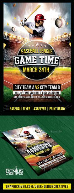 13 Best Baseball Flyer Templates images Event flyers, Sports flyer