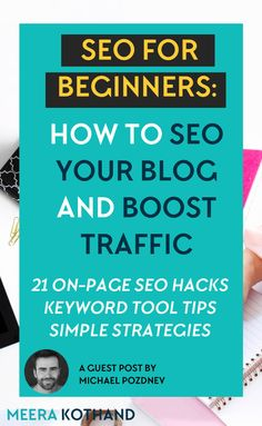 Looking for simple SEO tips and tricks to boost your traffic and get found? In this SEO for bloggers guide you will learn what it means to SEO your blog posts and tiny tweaks to boost for search rankings.