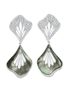 brincos madre perola boucheron www.waufen.com.br #semijoias #joias #semijoia #joia #brincos #pulseiras #aneis #colares #moda #tendencias #fashion #luxo