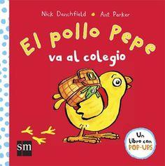 Hoxe é o primeiro día de colexio do polo Pepe, pero quedouse durmido e esta mañá ten moita présa. Chegará a tempo? Un divertido libro con pop-ups para nenos de 2 anos.