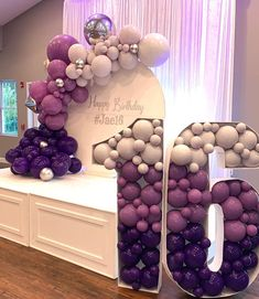 Requests for this sweet sixteen birthday party were simple: good music, carefree fun, sweet treats and purple please! Sweet 16 Party Themes, Sweet 16 Party Decorations, Sweet 16 Party Favors, 16th Birthday Decorations, Sweet Sixteen Parties, Purple Dessert Tables, Purple Desserts, Sweet 16 Birthday Cake, Purple Birthday