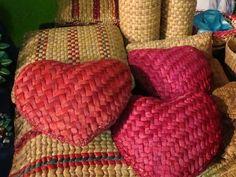 bazares méxico - cojines de yute