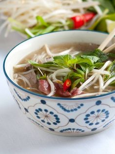 Vietnamese Pho Soup Recipe with Video from www.inspiredtaste.net