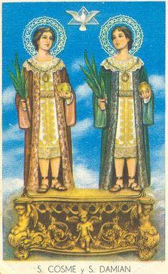 San Cosme y San Damian. Fiesta 26 de septiembre.