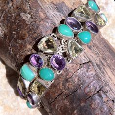 Opal, amethyst and citrine quartz Opal, Amethyst, Gemstone Rings, Quartz, Turquoise, Gemstones, Jewelry, Jewlery, Bijoux