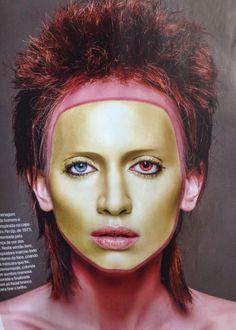 Coleção Camaleoa revista Cabelos & cia cabelo Cesar Augusto make Jaquelin Gelsi fotografia Jean Pierre modelo Leticia Kleman