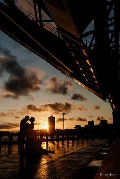 Sydney Harbour Bridge wedding photos