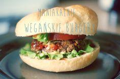 Zielone Love: Maniakalnie: wegańskie burgery !!