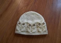 Crochet PATTERN-It's a Hoot Owl Hat. Adult baby di TheHookHound