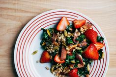 Enough with the baby spinach salads with strawberries, goat cheese, walnuts, and balsamic vinaigrette already! Here's a better way to incorporate strawberries into a savory salad—and it involves bacon.