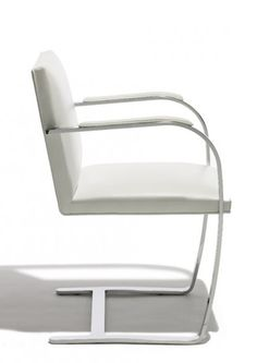 Mies van der Rohe Flat Bar Brno Chair _