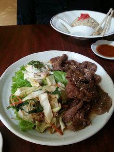 Beef tepanyaki