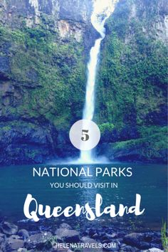 From tropical rainforests to gorgeous waterfalls, Queensland has something to offer for all nature lovers traveling in Australia. Here are five amazing national parks you should visit on a roadtrip to Queensland! Australia Travel Guide, Visit Australia, Queensland Australia, Western Australia, Australia Trip, South Australia, Honeymoon In Australia, Australia Weather, Gold Coast Queensland