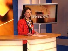 Manuela Jacob-Niedballa vom Wirtschaftsclub Bamberg als Gastmoderatorin bei TVO.