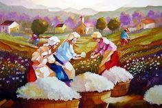 colheita de algodão - Pesquisa Google