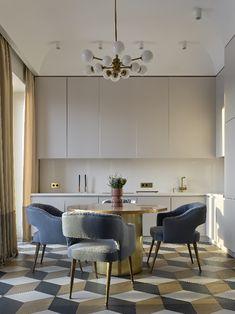 Апартаменты для молодой семьи В новом проекте Екатерины Лашмановой собраны все актуальные тренды интерьерного дизайна www.bocadolobo.com #bocadolobo #luxuryfurniture #exclusivedesign #interiodesign #designideas