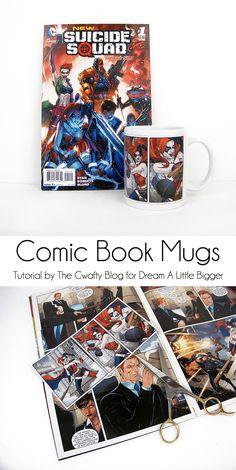 Comic Book Mugs