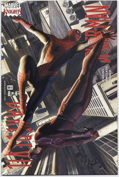 Daredevil/Spider-Man #2, August 2001, cover by Alex Ross