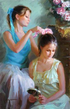 Vladimir Volegov nació en Khabarovsk, Rusia. según su familia, comenzó a pintar a la edad de tres años y su talento fue notado repetidame...