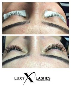 Resultaat wimperextensions one-by-one C-Krul by Luxy Lashes te Amersfoort / Result individual eyelash extensions