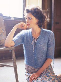 Marianne in Rowan Kidsilk Haze | Knitting Patterns | LoveKnitting
