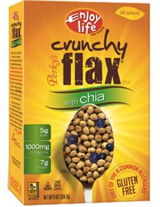 Crunchy Flax with Chia Cereal - gluten free, soy free, dairy free, nut free, casein free Allergy Free Recipes, Dog Food Recipes, Vegan Recipes, Nut Free, Dairy Free, Lactose Free, Grain Free, Cereal Sin Gluten, Enjoy Life Foods