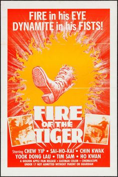 Fire of the Tiger (70's)