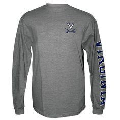 26.99 Long Sleeve T-Shirt V-Sabre Left Chest Virginia Down Sleeve