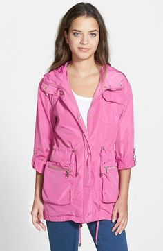 Steve Madden Packable Hooded Jacket available at #Nordstrom