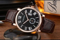 Luxury Mens Waterproof Wrist Watch