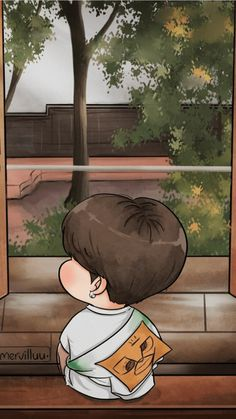 Mervilluu #jimin Wallpaper Gratis, Chibi Wallpaper, Jimin Wallpaper, Wallpaper Iphone Cute, Jimin Fanart, Taehyung Fanart, Kpop Fanart, Bts Chibi, Bts Korea