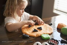 PUMPKIN PLAYDOUGH I love Halloween with all its cute costumes and colorful candy. I really enjoy the traditions we've established as a famil...