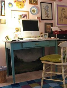 I'm always on the lookout for cheap fixes to life's little problems. Like cables, lamp cords, and computer wires - ugh! Those necessary little snakes can make the loveliest little office area loo...