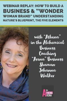 Are You An Excellent Holistic Practitioner, Psychotherapist, transformational life coach or Soulful Solopreneur who loves what you do, but hates to market? Are you wondering how to start a business or practice based on nature's blueprint (The 5 Elements) Listen in as Johanna delivers an engaging small business presentation where you will learn how to light up your heart centered and holistic marketing by receiving power from Nature's BluePrint, The Chinese Five Elements.