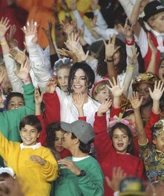 Michael Jackson, Heal The World, Superbowl 1993