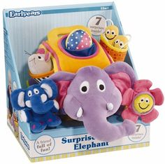 Elephant Baby Toys baby-toys baby-design-toys