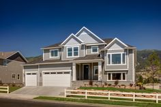 The Timpanogosis available in our Farmington Park, Jones Farm, and Western Springs communities.This floor plan has 5bedrooms, 3.5 bathrooms, and 4509total square feet. Materials vary from each community. Take a Virtual Tour of the Model
