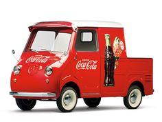 "1959 Goggomobil TL-400 Transporter Pickup ""Coca-Cola""                                                                                                                                                                   Estimate:$100,000-$125,000 US"