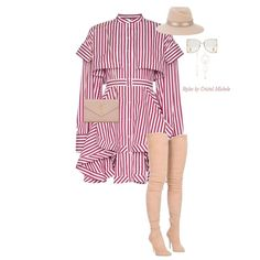 Fall is all about the flirty dresses and thigh highs! #Tap for details #fashion #fashionista #fashiondaily… Dressy Outfits, Spring Outfits, Winter Outfits, Cute Outfits, Fashion Outfits, Womens Fashion, Fashion Accessories, Thigh Highs, Looks